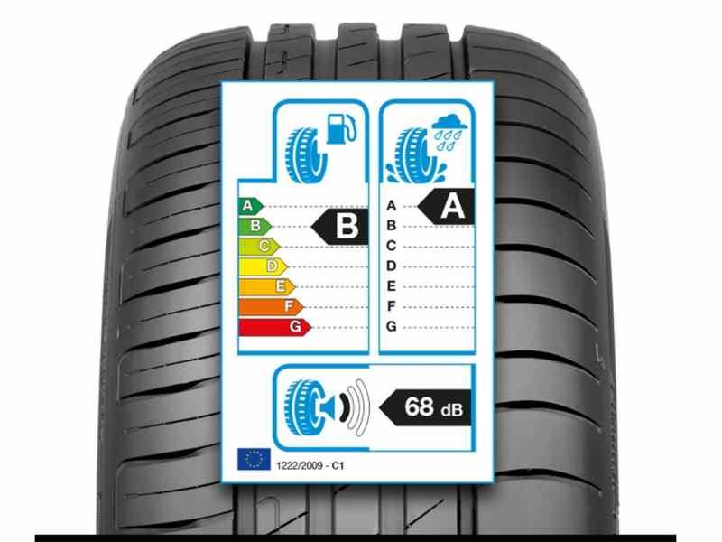 oznake na gumama za potrošnju